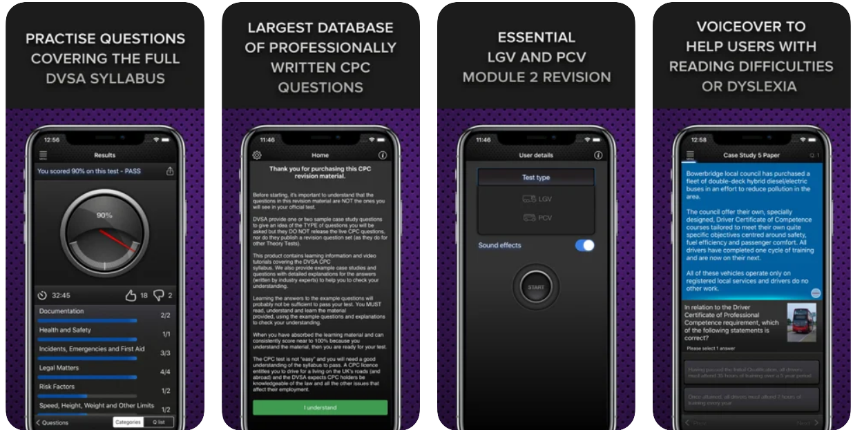 Driver CPC Case Study Test App for iOS and Android